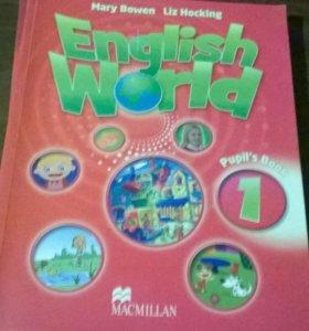 учебник и тетрадь по английскому языку 1 класс