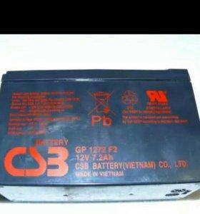 Аккумуляторная батарея CSB GP 1272 F2