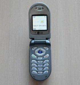 LG C1100 сотовый телефон, раскладушка