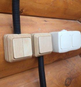 Электрик, услуги по электромонтажу