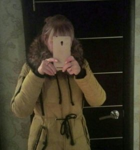 Зимняя куртка р 46-48