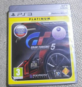 Игра на ps3 gran turismo 5 (platinum)