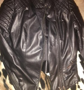 Кожаная куртка, Colin's,Размер М