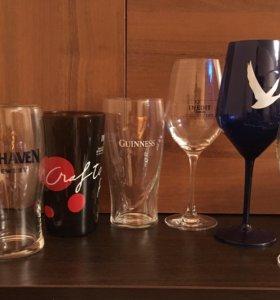 Стаканы и бокалы пивные