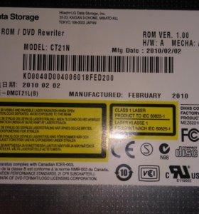 BD-ROM (blue ray) для ноутбука, внутренний.