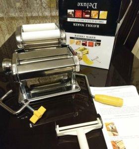 Машинка для раскатывания теста и приготовл равиоли