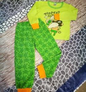 Пижама Пирата Yaloo с начесом размер 98