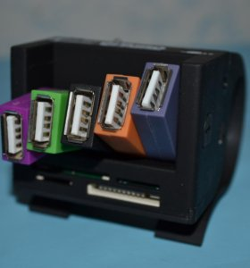 USB 2.0-Hub + картридер