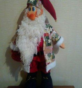 Дед Мороз ручная работа 70 см