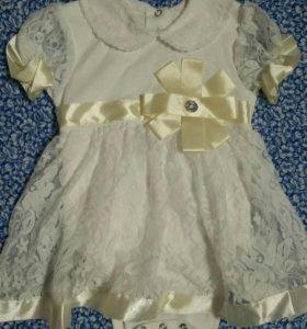 Платье с боди. 2в1. Б/у 1 фотосессия