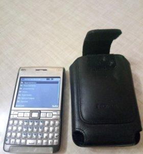 Оригинал Nokia E61i + кожаный чехол