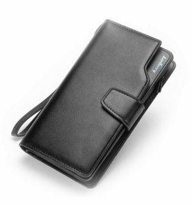 Клатч портмоне Baellery Business + Нож-кредитка