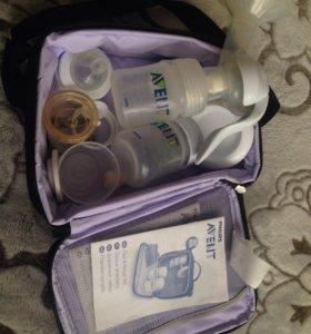 Молокоотсос ручной Avent в сумке