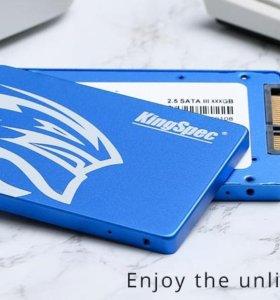 SSD KINGSPEC 64гб Жесткий диск SATA-III 2.5 дюймов