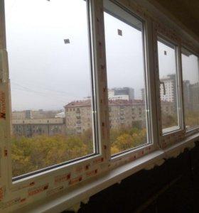 Стеклопакеты. Окна. Остекление балконов и лоджий.
