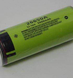 Литиевый аккумулятор Panasonic 26650 5000 mAh