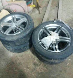 Продаются заводские колеса от Митсубиси Оутлендер