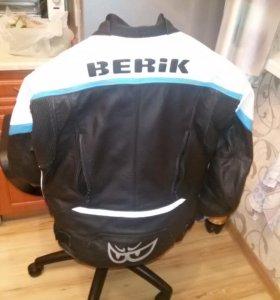 Мотокуртка кожаная Berik Airtech (размер 50)