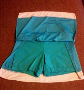 Шорты юбка спортивка