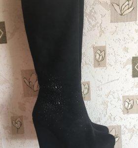 Зимние сапоги 👢,37 размер