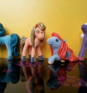 Лошадки Пони из коробочек