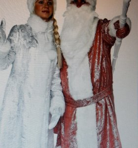Новогодние костюмы.Дед мороза и Снегурочки.