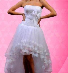 новое свадебное платье р-р 44-46