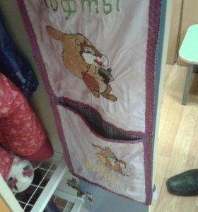 накидки карманы на детские шкафы в детский шкаф.