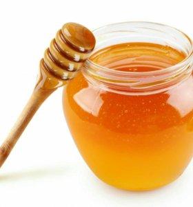 Мед горная липа с каштаном