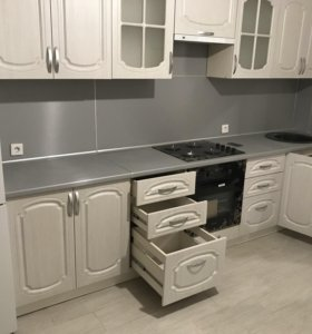 Кухня с фрезеровкой
