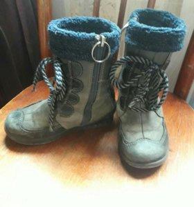 Зимние ботиночки натуралка
