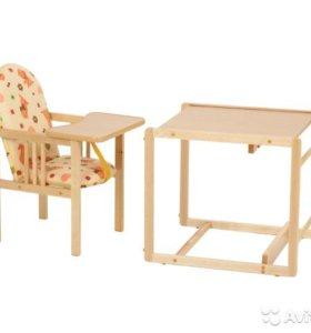 Продам детский стол-стул