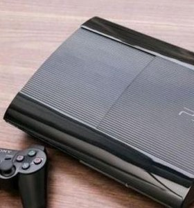 PS3 super slim 500gb(+ игры)
