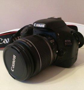 Фотоаппарат Canon d550