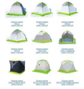 Зимняя палатка Лотос Зонт Куб