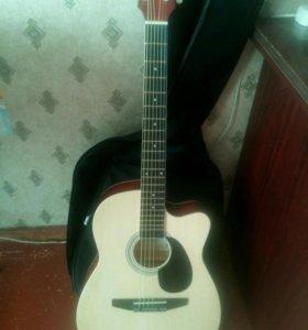 """Акустическая гитара """"Naranda"""" +чехол"""