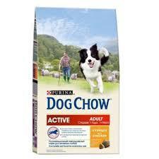 Сухой корм для собак DOG chow adult, 14кг