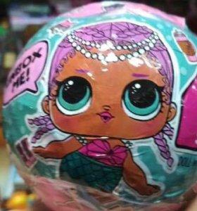 Кукла-сюрприз Lol(Лола) в шаре, набор 6 штук