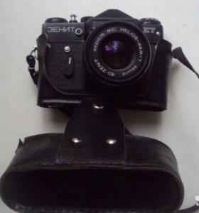 Фотоаппарат Зенит ЕТ с объективом гелиос-44м-7