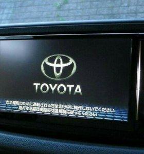 Дилерскся автомагнитола Toyota