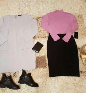 Ботинки,платье,портмоне, туфли, юбка