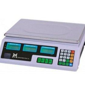 Весы торговые ВР 4900 (до 15/30 кг) новые