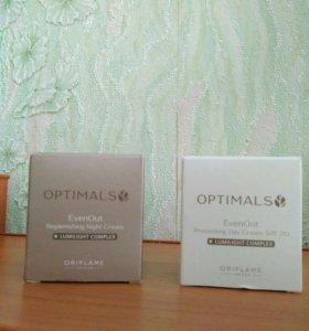Дневной и ночной крема против пигментации