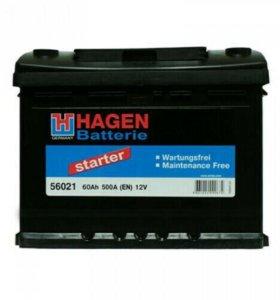 Аккумулятор HAGEN 60 Ah