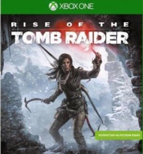 диск с игрой для xbox one the rise of tomb rider