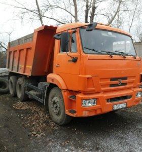 КАМАЗ 15 Т.   Доставка Чернозём ,щебень,песок.