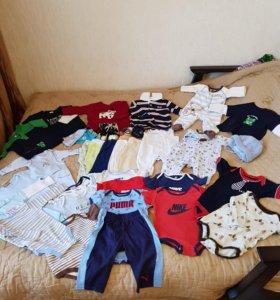 Детские вещи от 6-12 месяцев