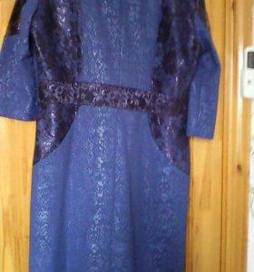 Платье новое,шикарное , с гипюром