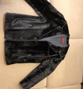 Куртка зимняя Новая( мех Нерпа!!!)
