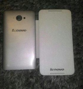 Чехол флип - книжка для Lenovo S930 кожа белый